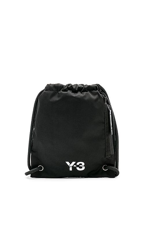 0473f0780c1 Y-3 Yohji Yamamoto Mini Gym Bag in Black   REVOLVE