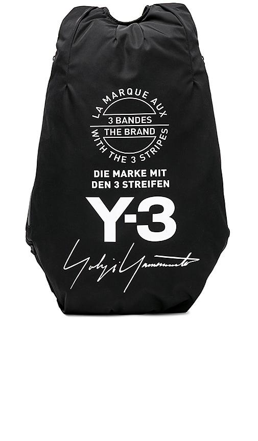 7bd2cd63f71a Y-3 Yohji Yamamoto Yohji Backpack in Black