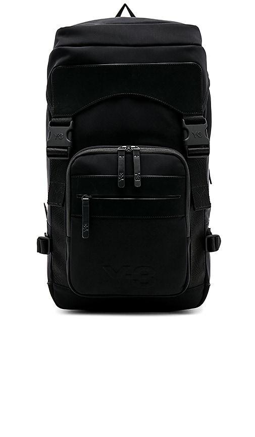 647e69f3255 Y-3 Yohji Yamamoto Ultratech Bag in Black   REVOLVE