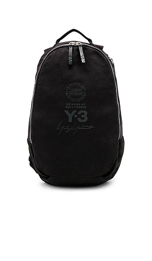 9bd9ebc340f Y-3 Yohji Yamamoto Backpack in Black   REVOLVE