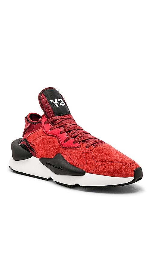 9eea606fd Y-3 Yohji Yamamoto Kaiwa in Lush Red   Lush Red   Lush Red