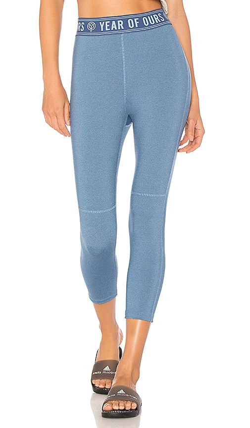 YEAR OF OURS Roller Legging in Blue