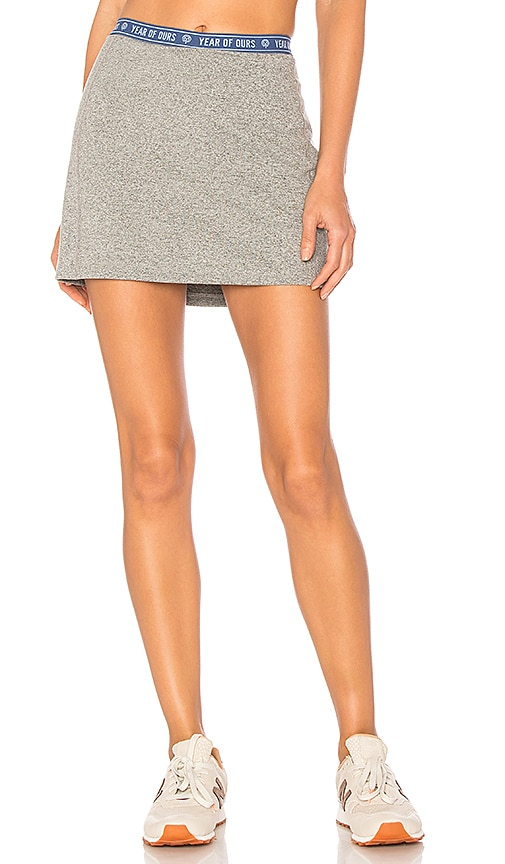 YEAR OF OURS Roller Skort in Gray