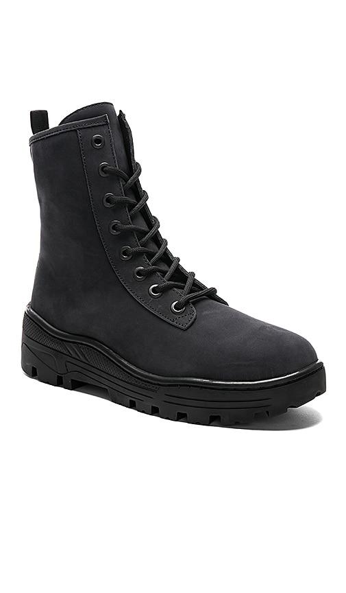 1c07b61471125 YEEZY Season 5 Nubuck Military Boot in in Graphite