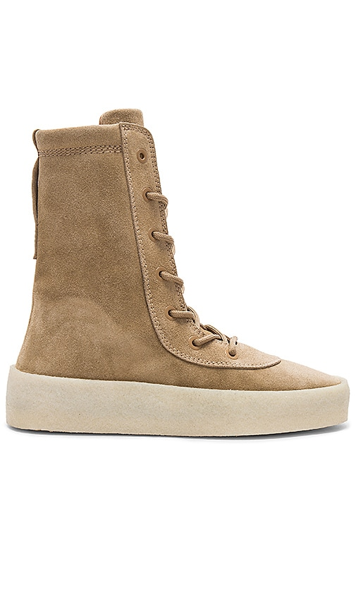 YEEZY Season 4 Crepe Boot in Tan