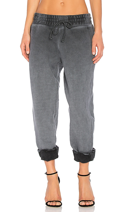 YEEZY Season 4 Paneled Sweatpant in Gray