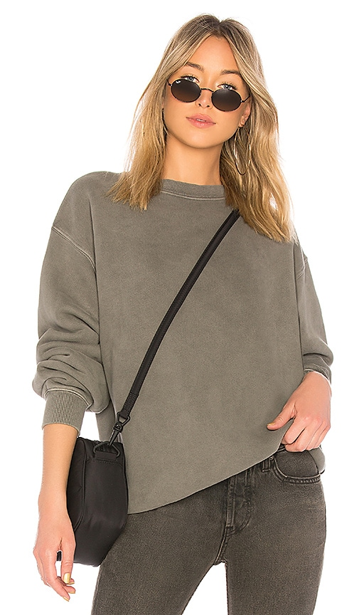 YEEZY Season 6 Crewneck Sweatshirt in Gray