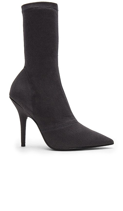 YEEZY Season 6 Ankle Boot in Charcoal