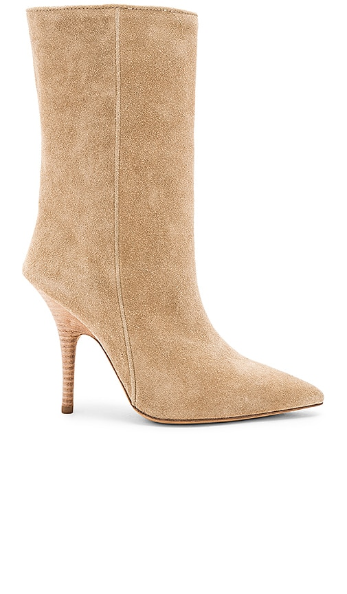 0416c38ee50 YEEZY Season 5 Tubular Ankle Boot in Taupe