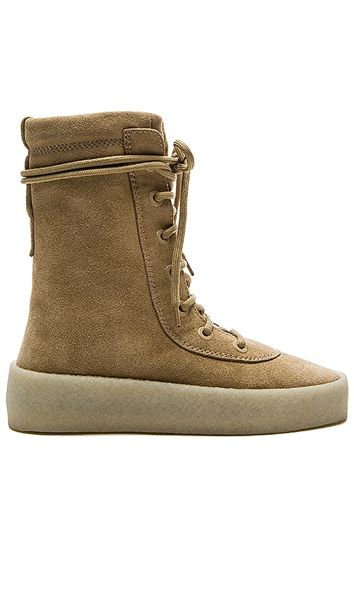 YEEZY Season 2 Crepe Boot in Taupe