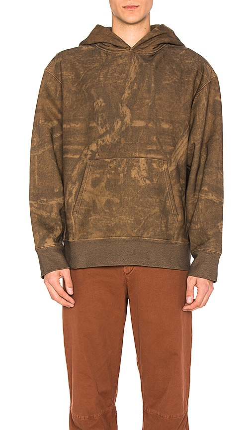 YEEZY Season 3 Camo Hoodie in Brown
