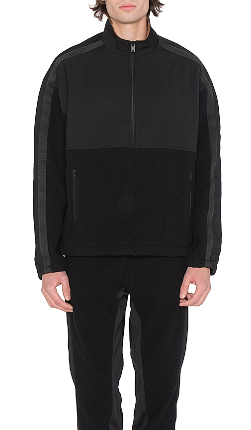 YEEZY Season 3 Fleece Pullover in Black