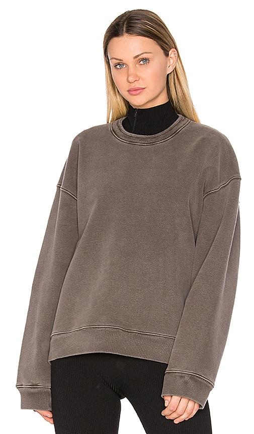 YEEZY Season 3 Crew Neck Rib Sweater in Grey