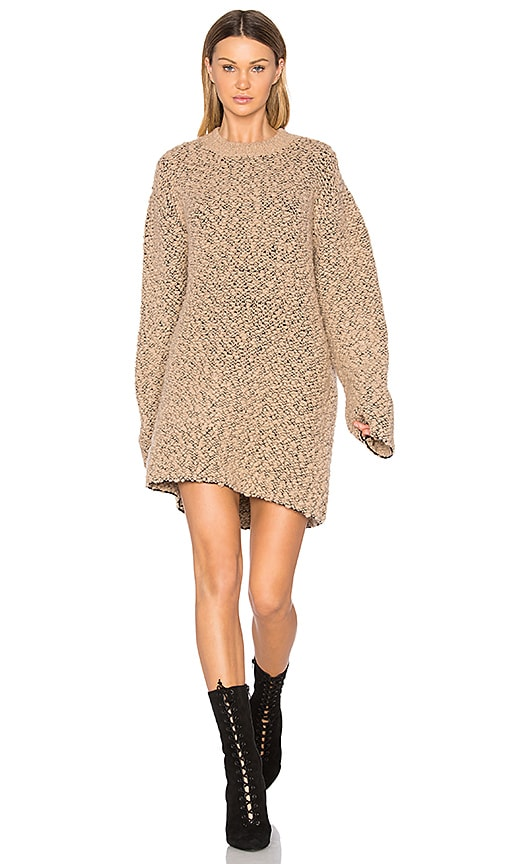 Oversized Teddy Boucle Sweater