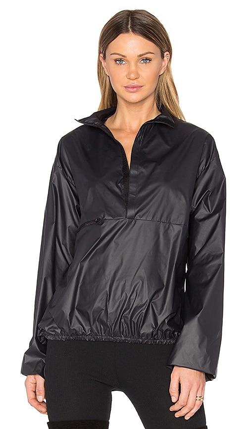 YEEZY Season 3 Nylon Packable Windbreaker Jacket in Black
