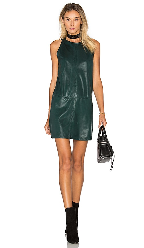 YORK street Tank Shift Dress in Green