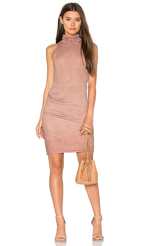 YORK street The Bodycon Dress in Brown