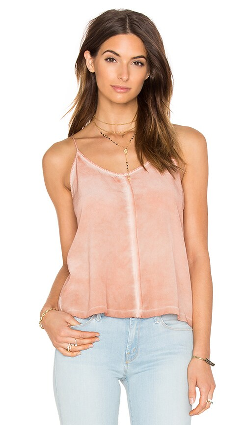 YORK street Seamed Cami in Blush