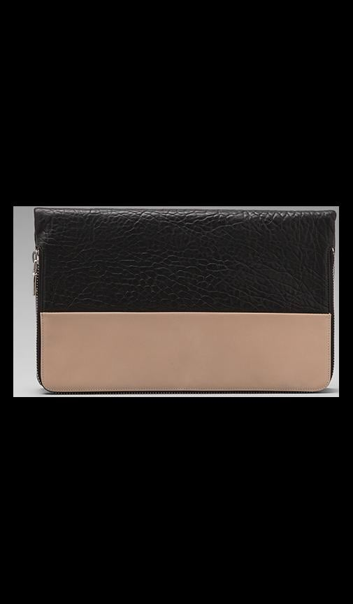 Colorblock Foldover Clutch