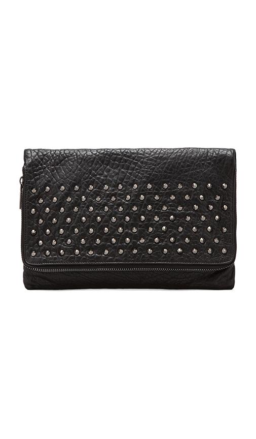 Blair Studded Foldover Clutch