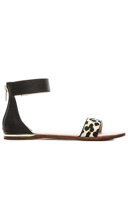 Cambelle Multicolor Calf Hair Sandal
