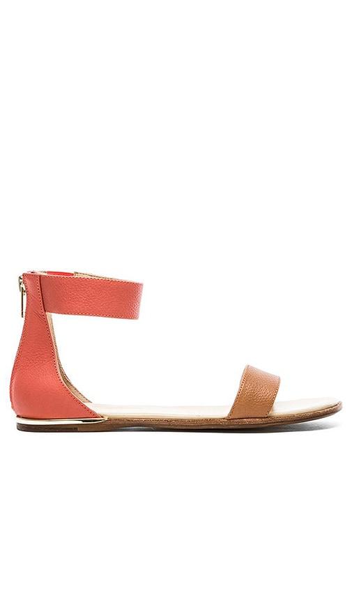 Yosi Samra Cambelle Tuscany Sandals in Sienna & Sugar Melon