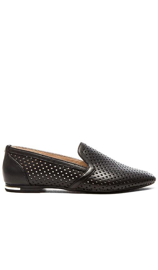 Yosi Samra Preslie Perforated Loafers in Black