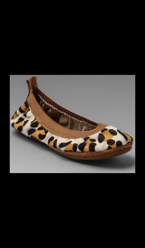 Leopard Print Flat