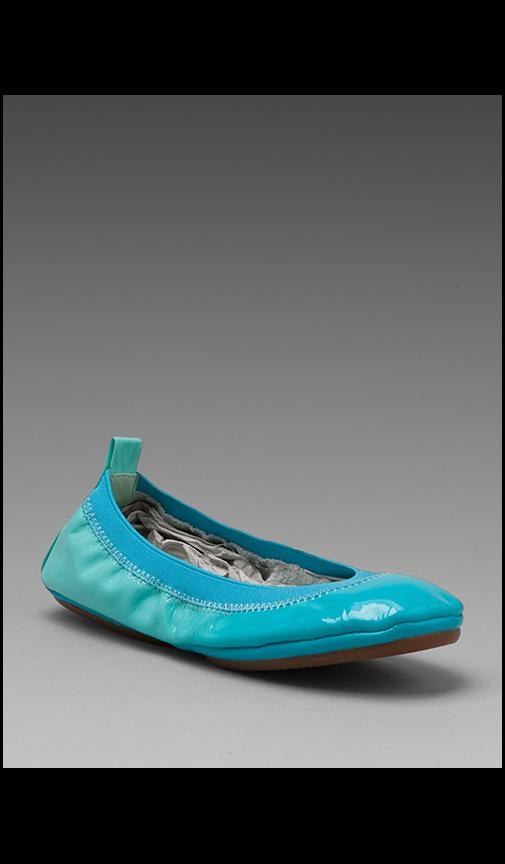 Ombre Patent Leather Flat