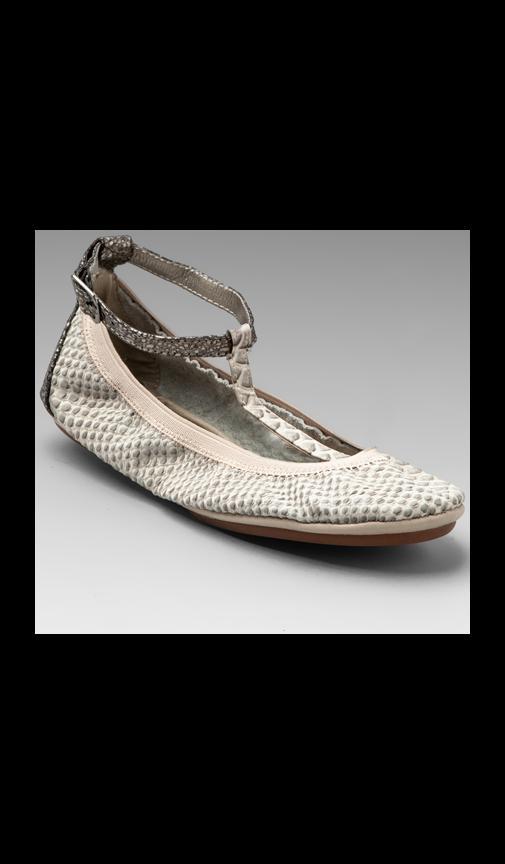 Crock Strap Ballet Flat