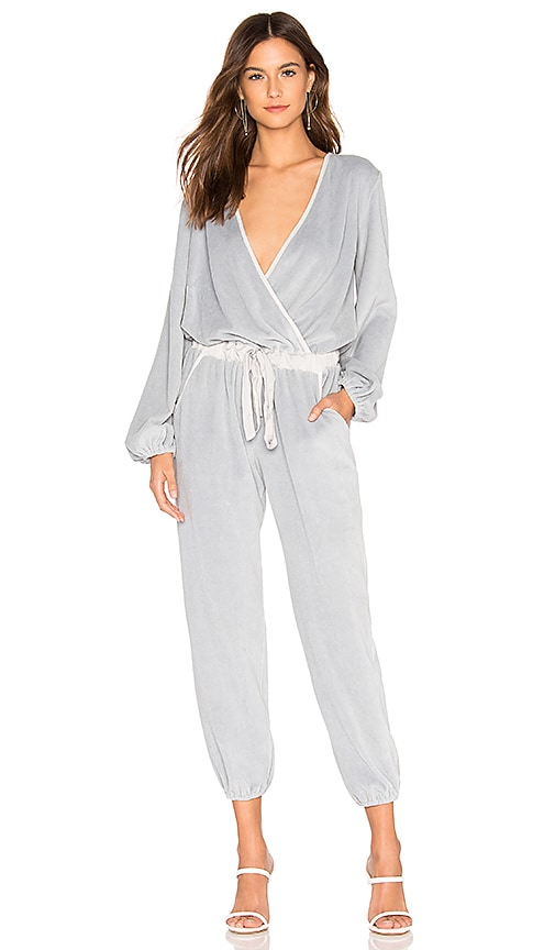 Foiley Velour Jumpsuit