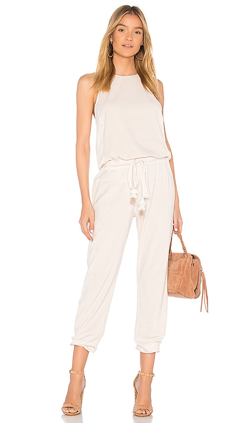 Young Fabulous Broke Diego Jumpsuit In Shell Revolve