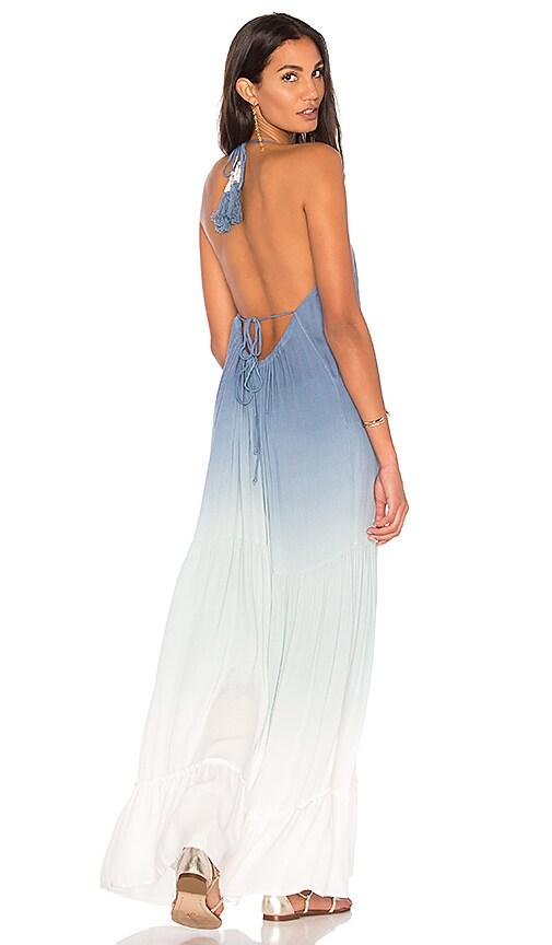 Young, Fabulous & Broke Georgina Dress in Blue