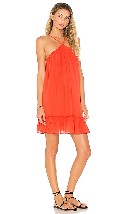 Young, Fabulous & Broke Lissa Dress in Orange