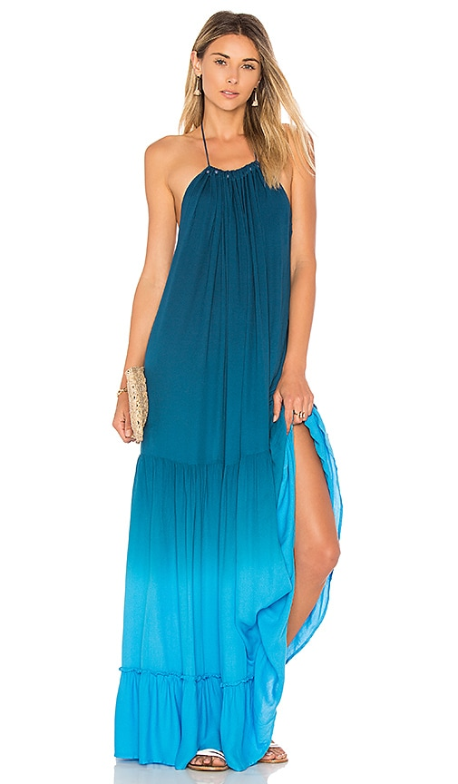 Young, Fabulous & Broke Georgina Dress in Teal