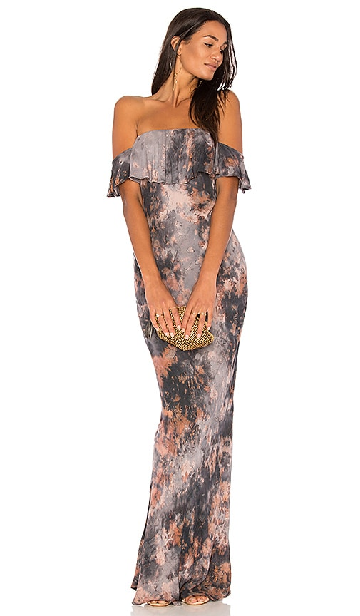 Young, Fabulous & Broke Nell Maxi Dress in Gray