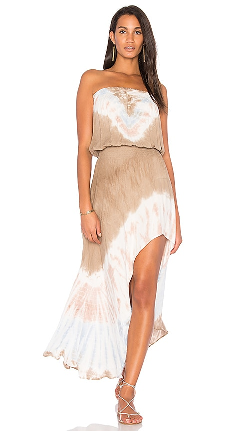 Young, Fabulous & Broke Kylie Dress in Brown