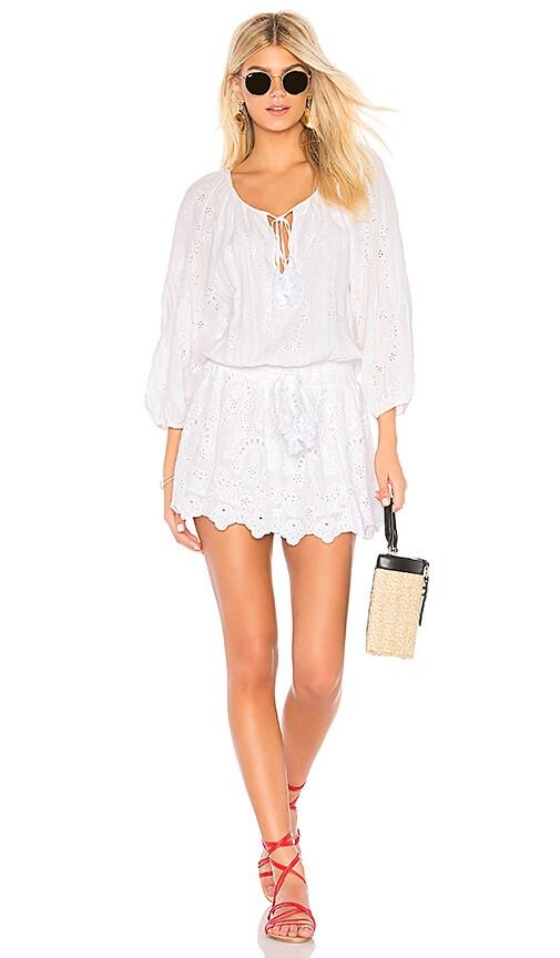 Young, Fabulous & Broke Junia Dress in White