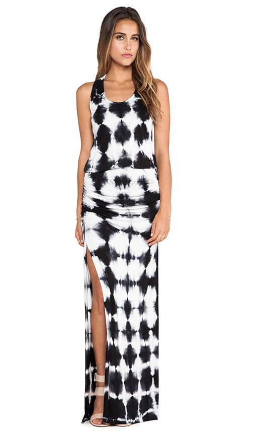 Mel Maxi Crosshatch Dress