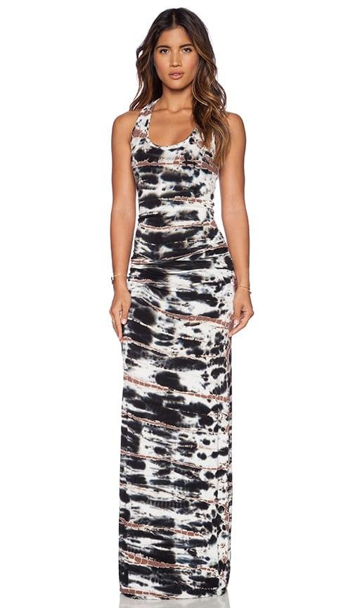 Young, Fabulous & Broke Hamptons Maxi Dress in Black Shorebreak
