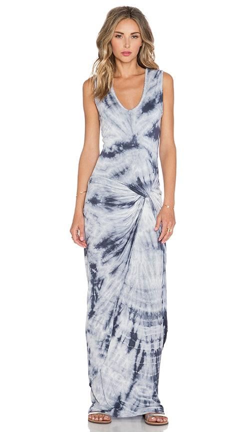 Young, Fabulous & Broke Fleur Maxi Dress in Gray Dreamer