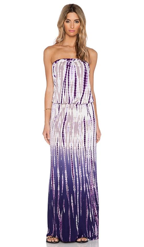 Young, Fabulous & Broke Sydney Maxi Dress in Purple Rain Ombre