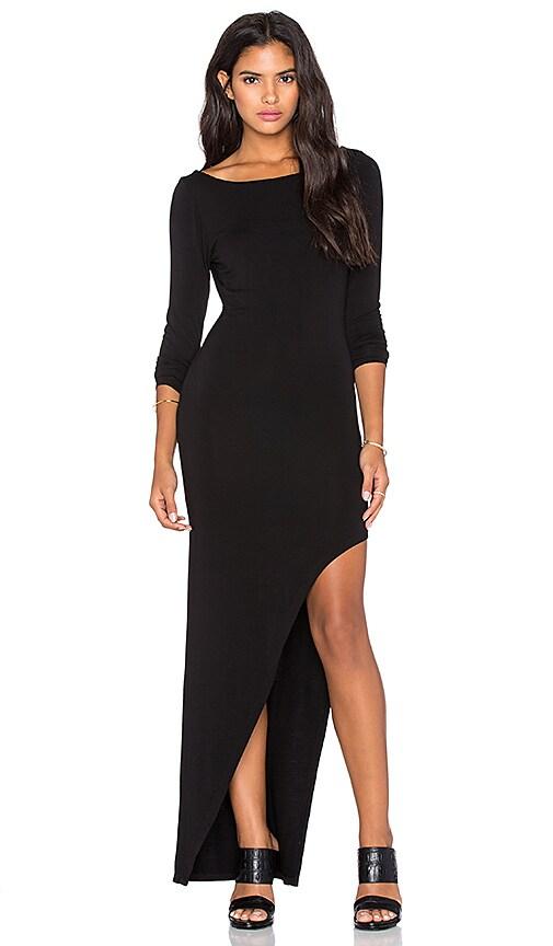 Young, Fabulous & Broke Krystal Maxi Dress in Black