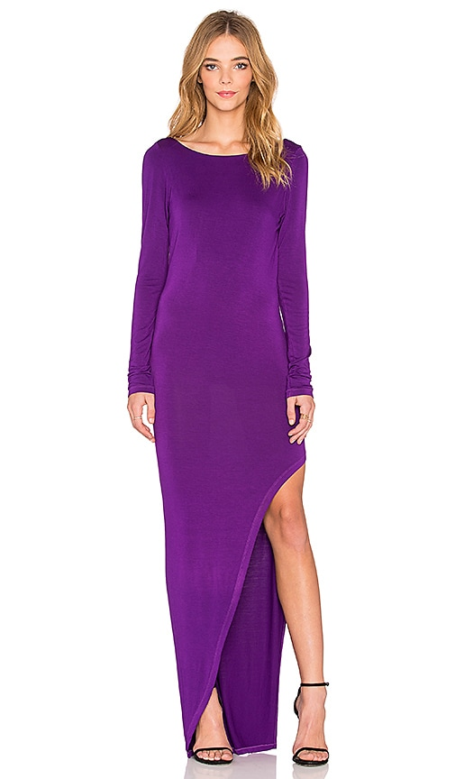 Young, Fabulous & Broke Krystal Maxi Dress in Amethyst