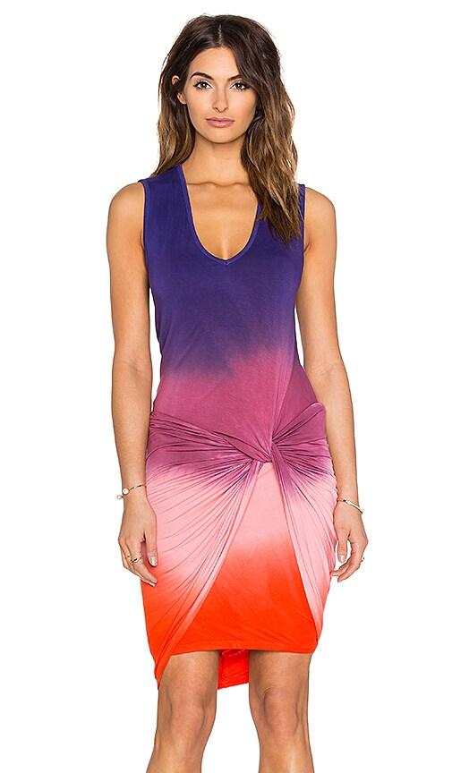 Young, Fabulous & Broke Fleur Mini Dress in Purple