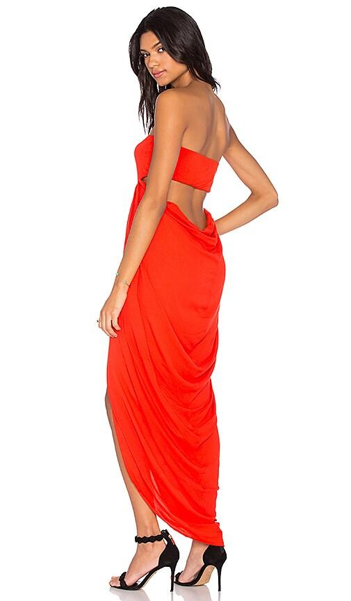 Young, Fabulous & Broke Neve Dress in Orange