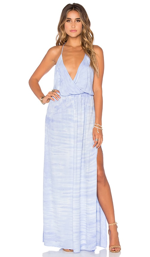 Young, Fabulous & Broke Nala Maxi Dress in Blue