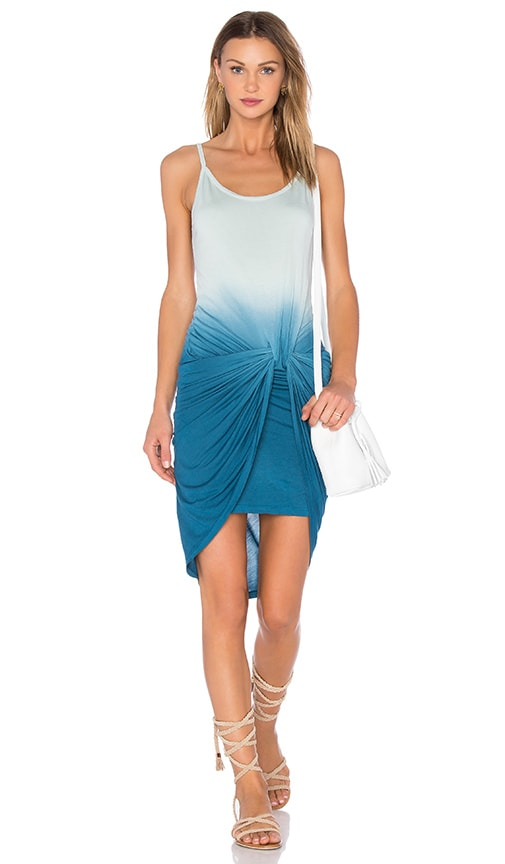 Young, Fabulous & Broke Desirae Dress in Pacific Blue Ombre