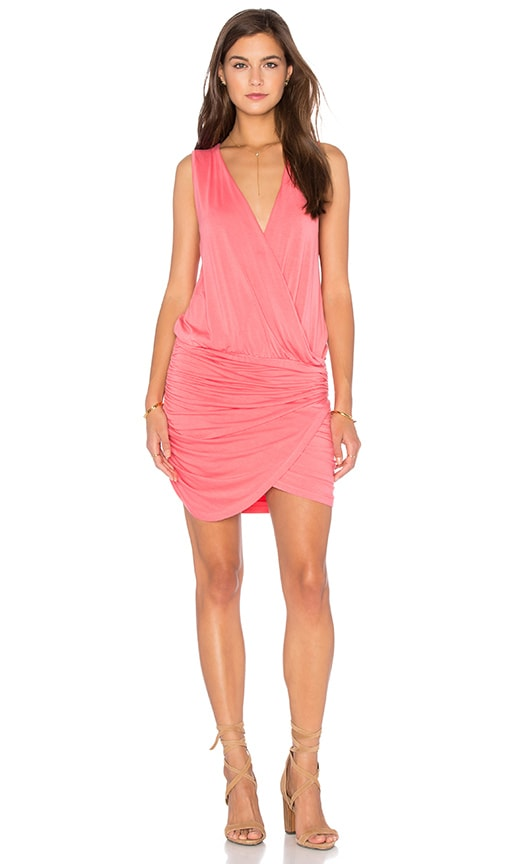 Young, Fabulous & Broke Stacey Dress in Coral