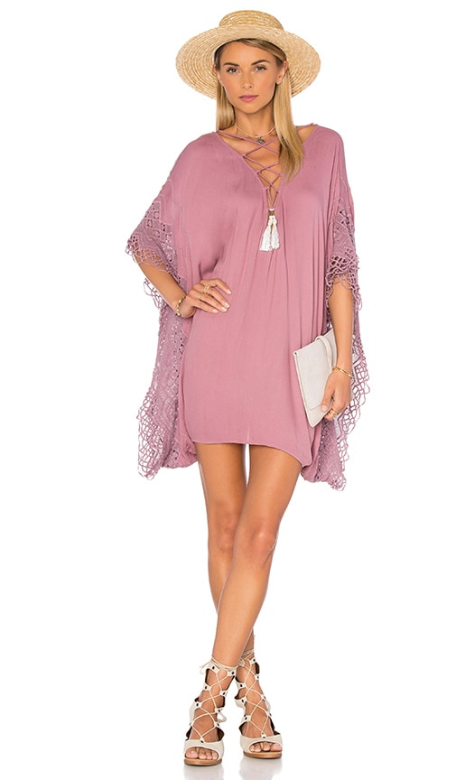 Young, Fabulous & Broke Tate Cover Up in Mauve